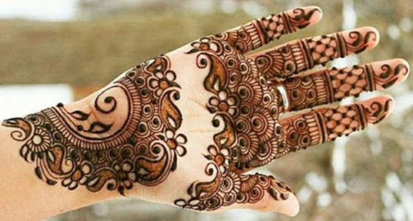 festivals mehndi design for palm-palms