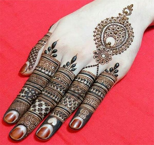 Finger Mehndi Designs Idea For Girls By Mehndi Design