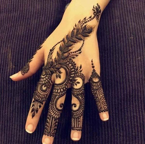 Easy Mehendi Designs For Fingers By Mehndi Design